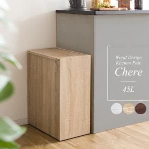 毎日使うキッチンだから見た目もこだわりたい。そんな方にピッタリの木製キッチンペール。 ゴミ箱だと分か...