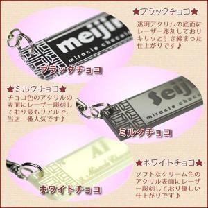 チョコレートそっくり 名入れ チョコストラップ キーホルダー<同一内容2個セット> メール便(ネコポス)送料無料・ギフト キャッシュレス 5% 還元|sancyokubin|02