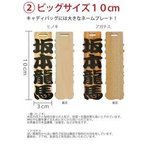 ゴルフ 浮き彫り ヒノキ アガチス ネームプレート 木製<同一内容2個セット> メール便(ネコポス)送料無料・ギフト キャッシュレス 5% 還元|sancyokubin|04