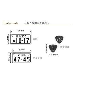国道標識付 特許ナンバープレート ストラップ・キーホルダー 普通車レイアウト/メール便 送料無料|sancyokubin|04