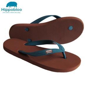 ビーチサンダル マシュマロのように柔らかい天然ゴム 植物由来 ヒッポブルー(hippo bloo) ユニセックス sandals