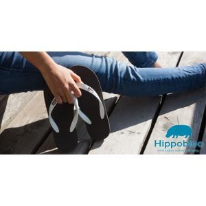 ビーチサンダル マシュマロのように柔らかい天然ゴム 植物由来 ヒッポブルー(hippo bloo) ユニセックス|sandals|06