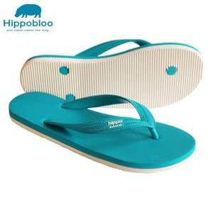 ビーチサンダル マシュマロのように柔らかい天然ゴム 植物由来 ヒッポブルー(hippo bloo) ユニセックス|sandals