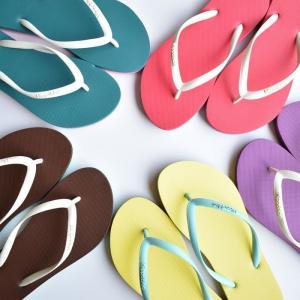 ビーチサンダル マシュマロのように柔らかい天然ゴム 植物由来 ヒッポブルー(hippo bloo) レディース|sandals|04