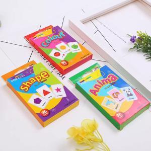 英語知育 フラッシュカード モンテッソーリ教育 教材 果物 動物 形 sandr0817