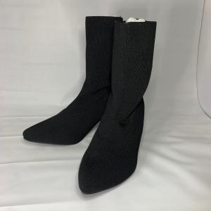 ブーツ 黒 かわいい おしゃれ 23.5-24.0cm |sandr0817