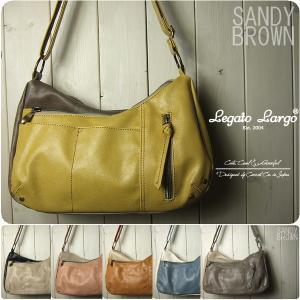 ミニショルダーバッグ レディース ポケットいっぱい 配色 Legato Largo ミニバッグ|sandybrown