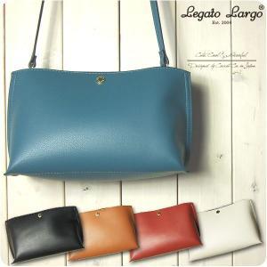 Legato Largo レガートラルゴ ショルダーバッグ レディース 軽量 ボンディングフェイクレザー ミニ ショルダーバッグ|sandybrown