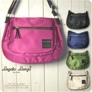 Legato Largo レガートラルゴ ショルダーバッグ レディース 撥水高密度ナイロン素材 7ポ...