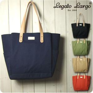 Legato Largo レガートラルゴ トートバッグ レディース 撥水コットン調ポリエステル 10...