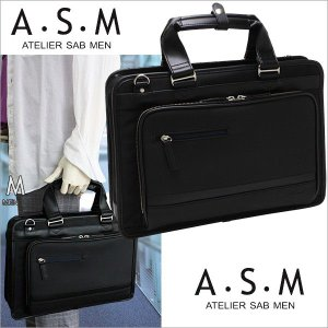 ビジネスバッグ メンズ アトリエサブ メン ATELIER SAB MEN ビジネスバッグ A4サイズ /エッジ2/ 144561|sane