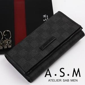 キーケースメンズ アトリエサブメン ATELIER SAB MEN キーケース 152612|sane