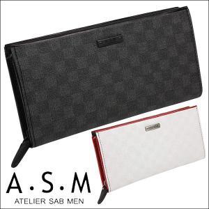 財布メンズ長財布アトリエサブメン ATELIER SAB MENラウンド長財布 チェアーシリーズ 152615|sane