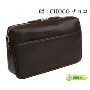 セカンドバッグ メンズ 本革 日本製 ミラ・ショーン mila schon メンズセカンドバッグ /モナーク / 290211|sane|05