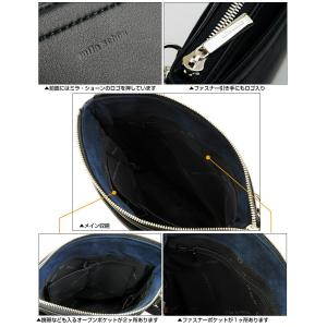 ショルダーバッグ メンズ 本革 日本製 ミラ・ショーン milaschon シンプルミニショルダー 297111|sane|02