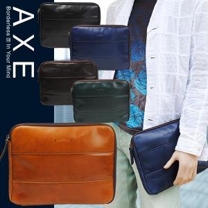セカンドバッグ クラッチバッグ メンズ 本革 アックス AXE クラッチバッグ B5/4LDK/ 605201 SALE|sane