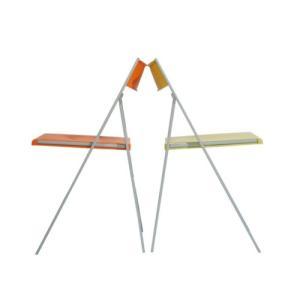 折りたたみ椅子(pocket)|sanei