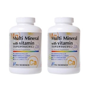 ニューサイエンス マルチミネラルビタミン 2個セット 正規販売代理店|sangakushop