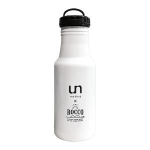 水筒 ロッコ ROCCO ワンタッチボトル 500ml マグボトル 直飲み 保冷 保温 ステンレス 真空二重構造 軽量 おしゃれ スリム undeg 限定デザイン sangakushop