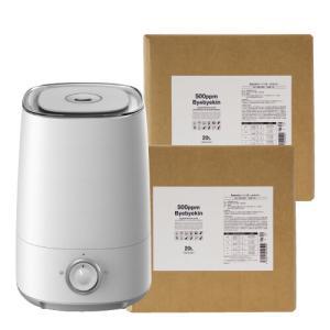 次亜塩素酸水 対応超音波噴霧器付 バイバイ菌 500ppm 40L|sangakushop