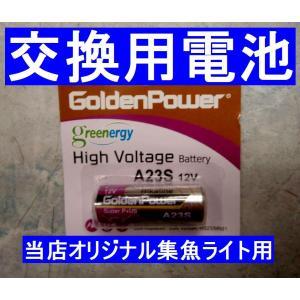替え電池  強烈発光集魚ライト用  12V
