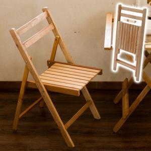 ダイニングチェア 天然木製 オイルフィニッシュ 折り畳み 椅...