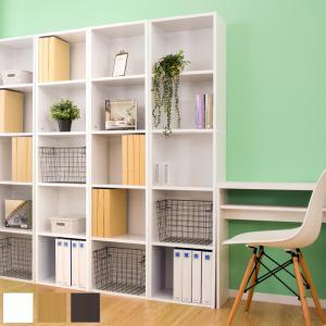 本棚 A4ファイル 収納 5段 オフィス 書棚 木製 大容量 幅40cm|sangostyle