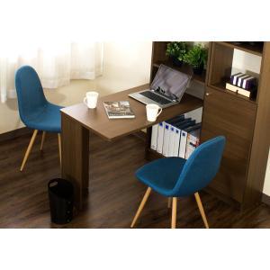 つっぱり耐震デスク 書棚W45×D19 セット オシャレ 薄型|sangostyle|10