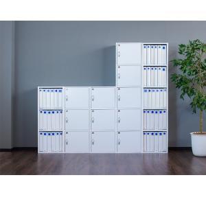 A4本棚 鍵付き収納ボックス 3段カラーボックス 扉付き sangostyle 03