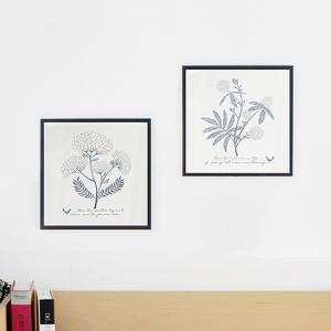 アート ポスター インテリア アートフレーム モダン おしゃれ 高級感 北欧 額縁 デザイン アルミ製フレーム付 スティルブルーミング 277×277|sangsanghoo-jp