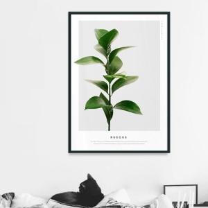 ポスター インテリア アートポスター 植物 おしゃれ フォトポスター サンサンフー リーフコレクション A2(フレームなし ) sangsanghoo-jp 14