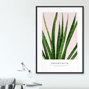 ポスター インテリア アートポスター 植物 おしゃれ フォトポスター サンサンフー リーフコレクション A2(フレームなし ) sangsanghoo-jp 15