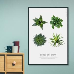 ポスター インテリア アートポスター 植物 おしゃれ フォトポスター サンサンフー リーフコレクション A2(フレームなし ) sangsanghoo-jp 16