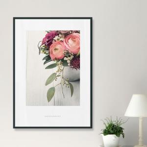 ポスター インテリア アートポスター  A2 お花 植物 おしゃれ  フォトポスター サンサンフー フラワーコレクション A2(フレーム付 )|sangsanghoo-jp|02