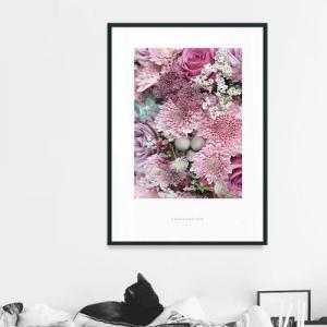 ポスター インテリア アートポスター  A2 お花 植物 おしゃれ  フォトポスター サンサンフー フラワーコレクション A2(フレーム付 )|sangsanghoo-jp|08