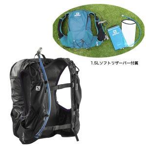 SALOMON サロモン SKIN PRO 15 SET スキン プロ 15セット リュック デイパック バッグ バックパック ザック トレイルランニング|sankakugusa|03