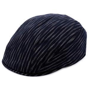 ビスポーク 井上帽子 越後亀田縞のハンチング IN-KM-H012 1個|sankeishop