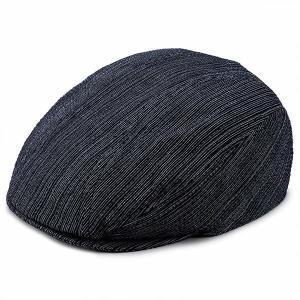 ビスポーク 井上帽子 阿波しじら織のハンチング IN-SI-H013 1個|sankeishop