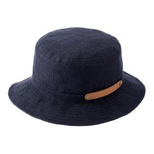 ビスポーク 井上帽子 折りたためる麻ハット IN-HLI011 1個|sankeishop