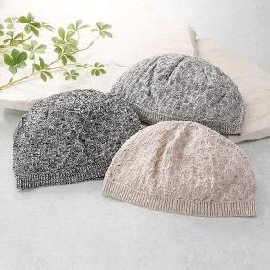 彩香 エムアイジェイ 日本製美濃和紙ニット帽子 3色組 NM-0006 1セット(3枚:3色同サイズ×各1枚)|sankeishop