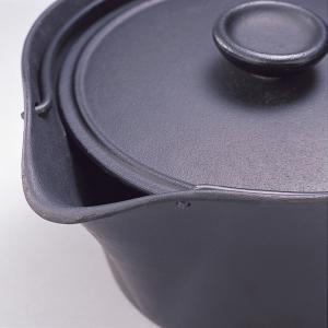 南部鉄器  『 湯沸し鍋 』 岩鋳製 (貧血の方の鉄分補給にどうぞ) IH対応 日本製|sankitrd|03
