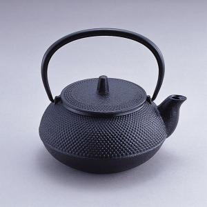 南部鉄器 『 新急須 5型アラレ  』 岩鋳製 鉄分補給にどうぞ!|sankitrd