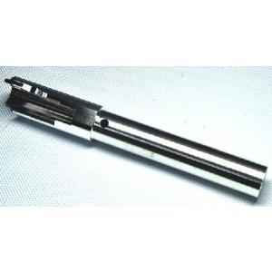 アウターバレル GBB用 9500-WOE NOVA S3Fタイプ 14mm逆ネジ Black 東京マルイGLOCK17/18C/22