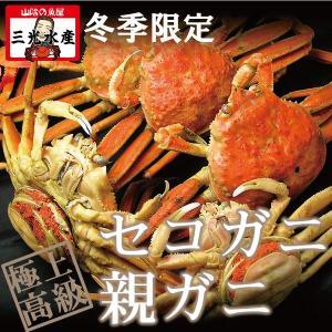 親蟹(松葉ガニ かに せこ 勢子 松葉蟹雌 ずわいがに) Lサイズ(150g前後) 卵たっぷり《10匹以上のご注文で送料無料》|sankousuisan