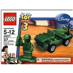 LEGO レゴ/ トイストーリー3 グリーンアーミーメン 緑の兵隊 軍曹 と ジープ付! 30071|sanks-store