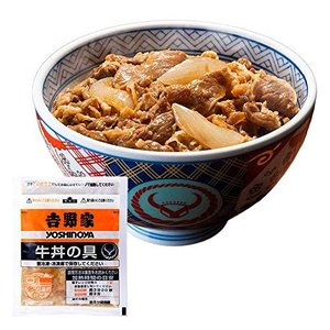 吉野家 冷凍牛丼の具  17.3cm14.3cm1.0cm g