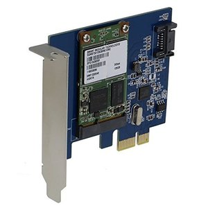 SEDNA???PCI Express mSATA III (6g) SSDアダプタwith 1ポートSATA III with Low Profil|sanks-store