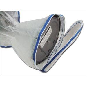 扇風機収納カバー 持ち手が付いて持ち運びが楽! 扇風機に収納カバーを掛けて来シーズンは綺麗な状態で☆ 扇風機収納カバー【ネコポス送料無料】|sankyo-co|02