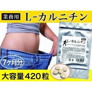 Lカルニチン ダイエット サポート アミノ酸 燃焼系 サプリメント 420粒 約7ヶ月分 Lカルニチン ランキング