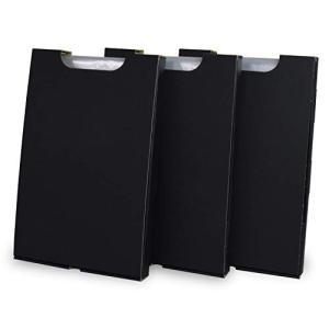 ゴミ袋収納箱(ゴミ袋付)3個入り黒 5セット (ゴミ袋収納 隙間収納 縦置き 45l 45リットル ...